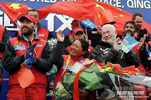 新华社记者,美洲杯,最大的,中国,青岛 首个挑战环球航海中国女水手返航 宋坤回到青岛