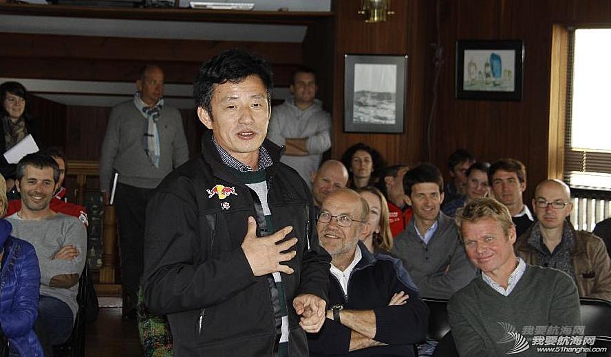 北京奥运会,中国人,帆船运动,弗朗索瓦,发布会 3月17日郭川船长受邀出席第八届旺代全球不间断单人环球帆船赛启动发布会。