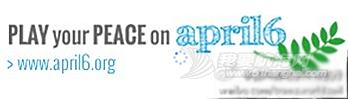 """2014,联合国,体育运动,国际日,郭川 4月6日郭川船长加入""""亮出白牌""""行动---亮出白牌 - 体育呼唤和平"""