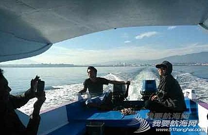 工作日,一日游,移民局,happy,印尼 印尼海关,移民局联合执法小组去检查我的船。当做工作日海岛一日游了 。