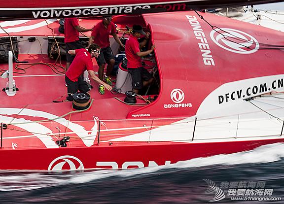 东风队,沃尔沃环球帆船赛,训练图片 让我们通过照片回顾东风队在初期训练阶段中走过的每一步。