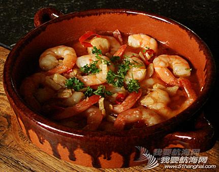 美食系列二--西班牙美食。---《大西洋航游760天》