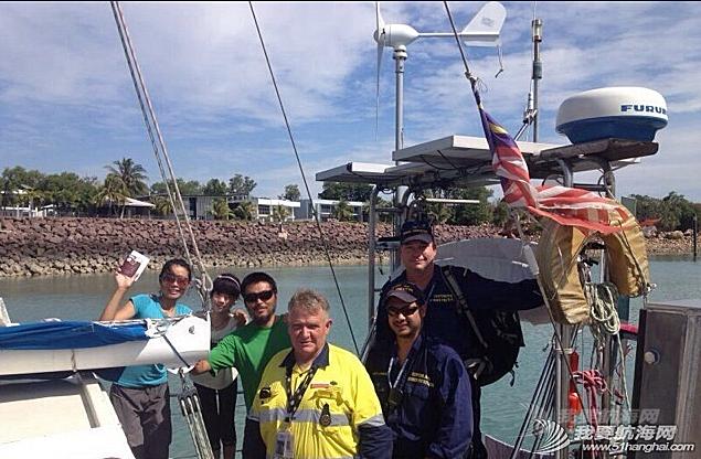 澳大利亚,达尔文 五月三十日晚九点四十八分安全抵达澳大利亚的达尔文!