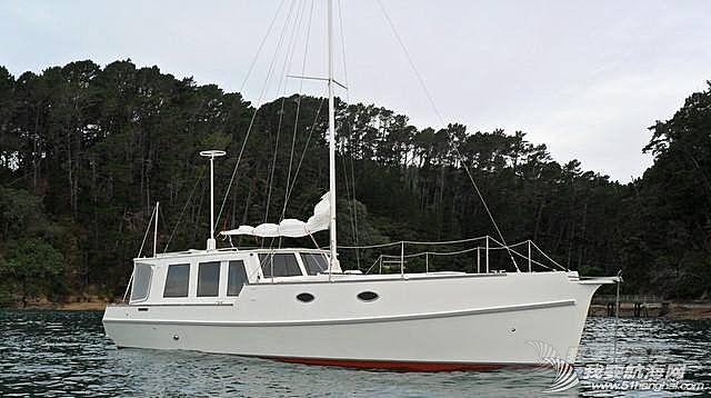 木制43尺机帆船制造过程