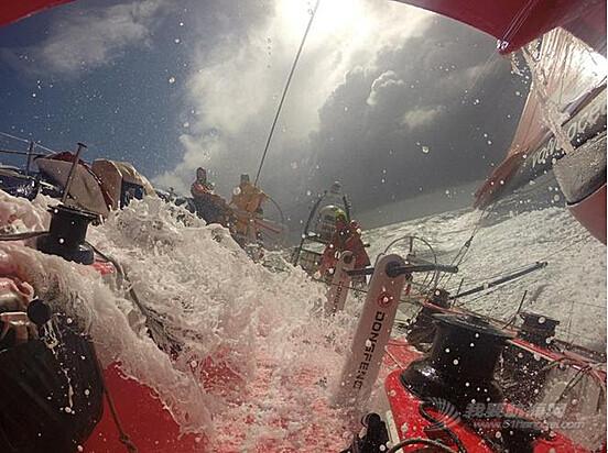 沃尔沃,极端天气,当地时间,大西洋,法国 2014-06-132014-15沃尔沃环球帆船赛——决策时刻