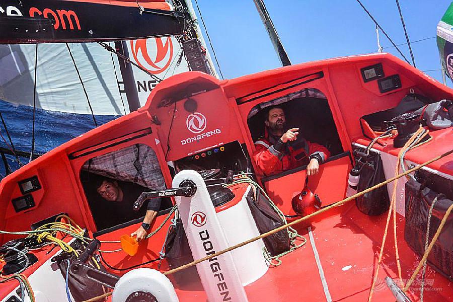 中国船员,大西洋,训练营,候选人,法国 2014-06-06东风队横跨大西洋远洋实战训练快报四