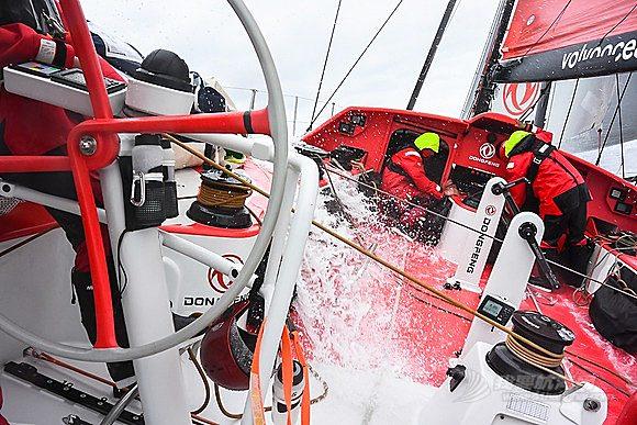 集装箱货船,沃尔沃,大西洋,后脑勺,中国籍 2014-06-08 东风队横跨大西洋远洋实战训练快报六