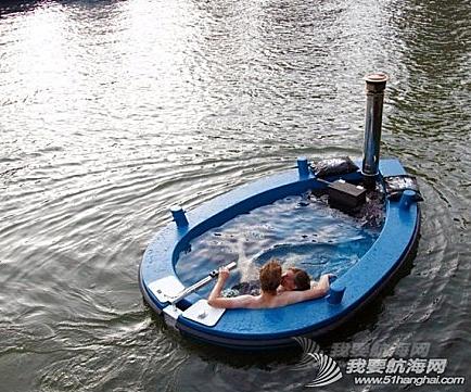 热水浴船,荷兰 泡妞神器:热水浴船