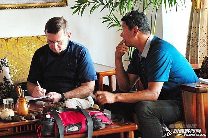 美国帆船联合会创始人之一,Barry Sroka先生到访名岛俱乐部,指导教学培训。