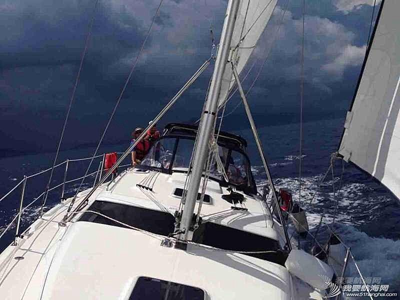 完美的一次航行训练。