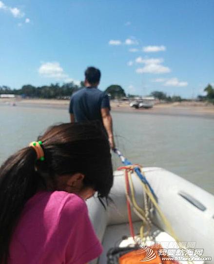 英语学习,小朋友,留学生,英文,帆船 昨天是馨儿第一天的全英文授课学习小帆船!