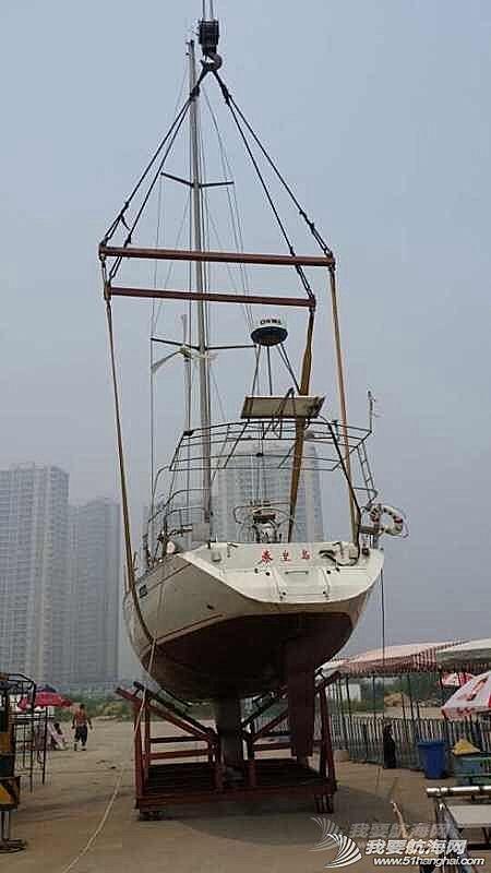 秦皇岛号岸上等待---树欲静而风不止,等风休息好下水。