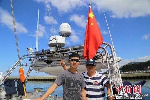 第二梦想号继续环球航程 15岁少年将横跨太平洋 64733