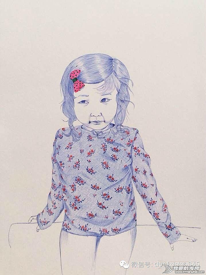交响乐团,Jenny,圆珠笔,当当,日本 Jenny和女儿,以及她的圆珠笔画