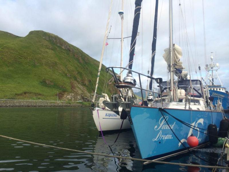 高民团队遇到了两位73岁和64岁帆船环球的俄罗斯老人 72207