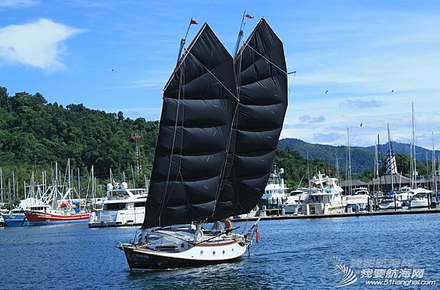 西式帆船,中式帆装 邝向荣忆两次开着西式帆船与中式帆装PK的亲身经历