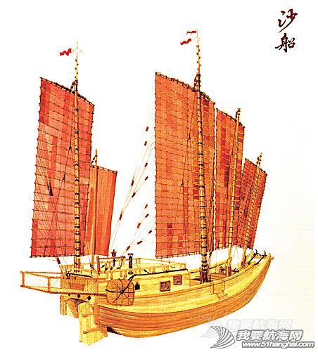 帆船 抢救中式帆船文化(四)中式帆装与现代竞赛帆船