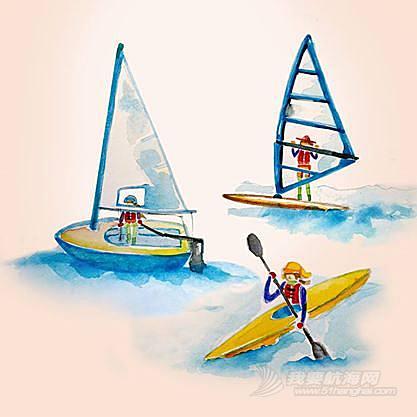 冲浪,帆板 待我学好帆板,再来教大家怎么冲浪哈~