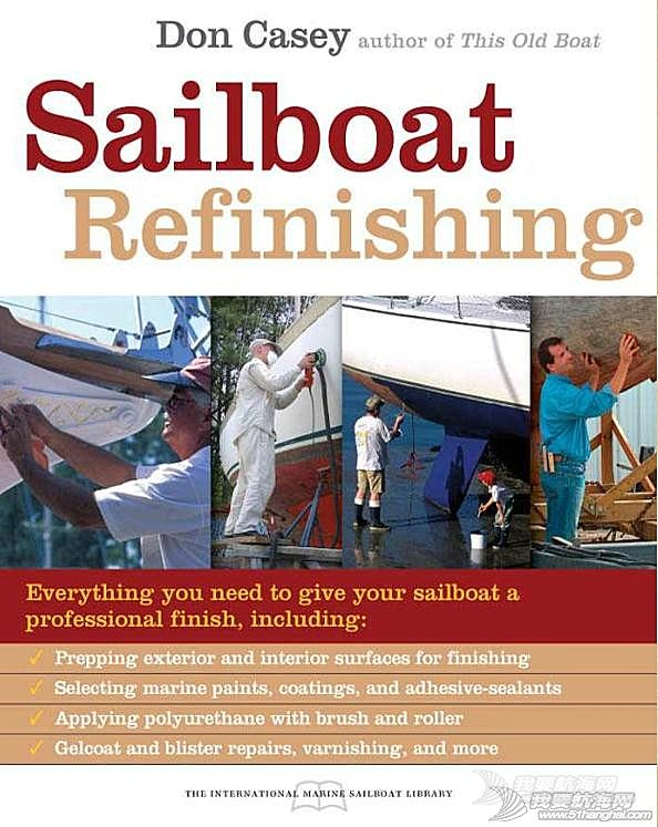 书籍 造船书籍--Boatbuilding - Sailboat Refinishing