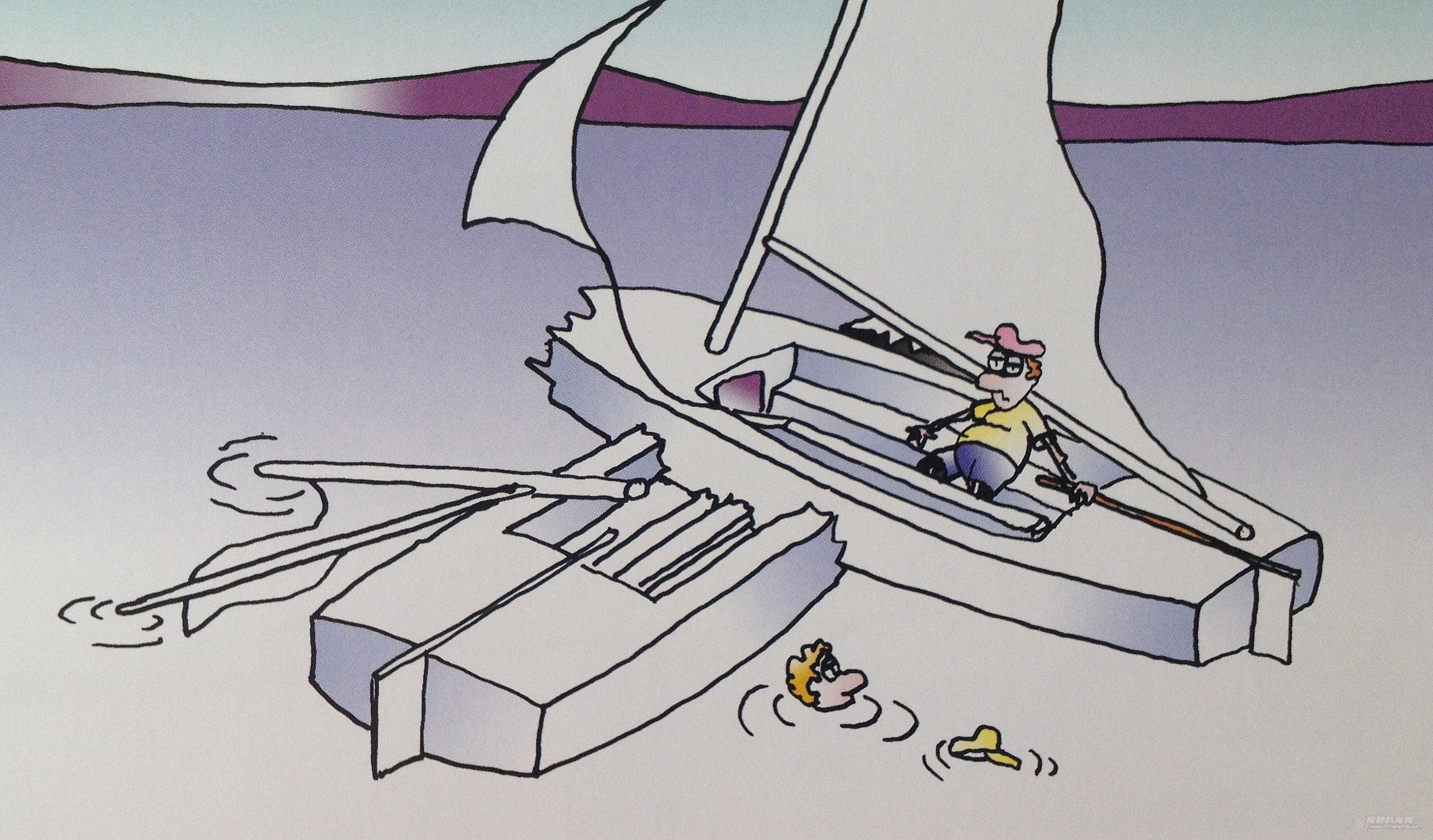 帆船 重温各种帆船规则:左舷风没有避让右舷风的后果