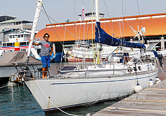 意大利,太平洋,菲律宾,环游世界,大西洋 帆船环游70国 意大利男高雄尝美味