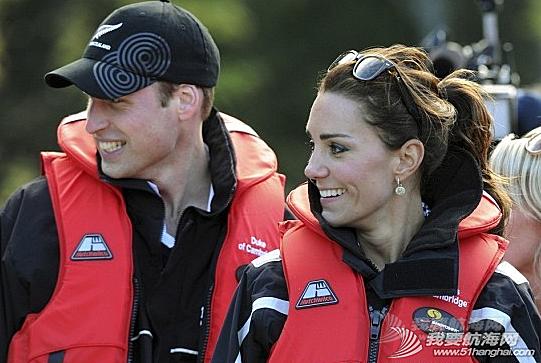 英国威廉,凯瑟琳,新西兰,葡萄酒,极速 英王妃凯瑟琳叹酒乘快艇 有喜传言不攻自破