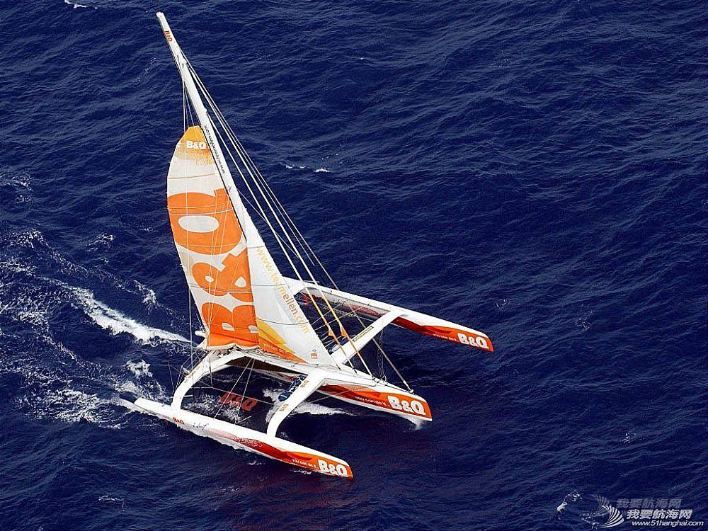 """世界上最快的三体帆船""""B&Q百安居号""""帆船详细介绍"""