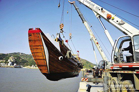 """帆船,中式帆船,乌浪鼓,温岭,阿福 【中式帆船】50年前的""""乌浪鼓""""重现石塘"""