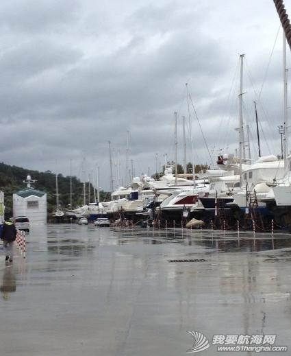 土耳其,大太阳,天气,测量,成本 维修成本:今天狂风暴雨,土耳其人照常按我们约定时间来船里测量做报价。