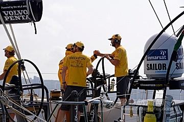 六支船队同一日到港 沃尔沃帆船赛第三赛段圆满落幕