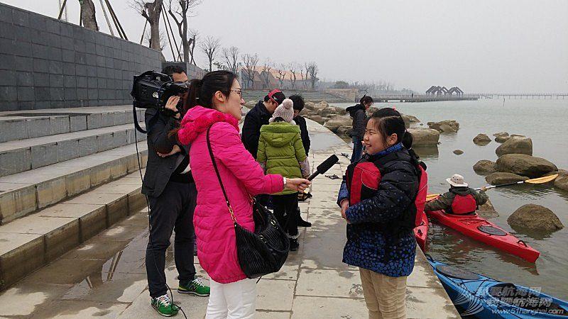 电视台,皮划艇,常州 常州电视台对君雅皮划艇的专访