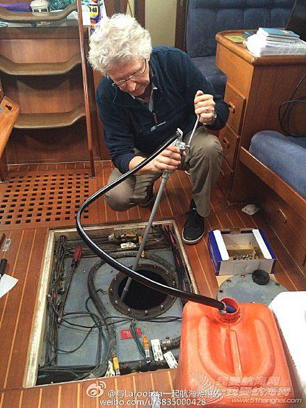 帆船,清洁 帆船维护保养之油箱清洁