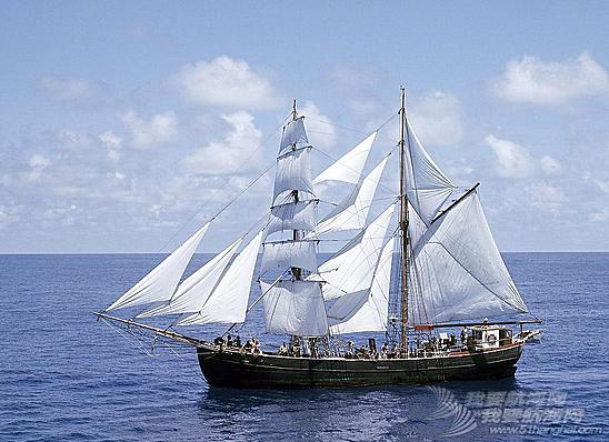 如何建造一艘帆船,30页英文。