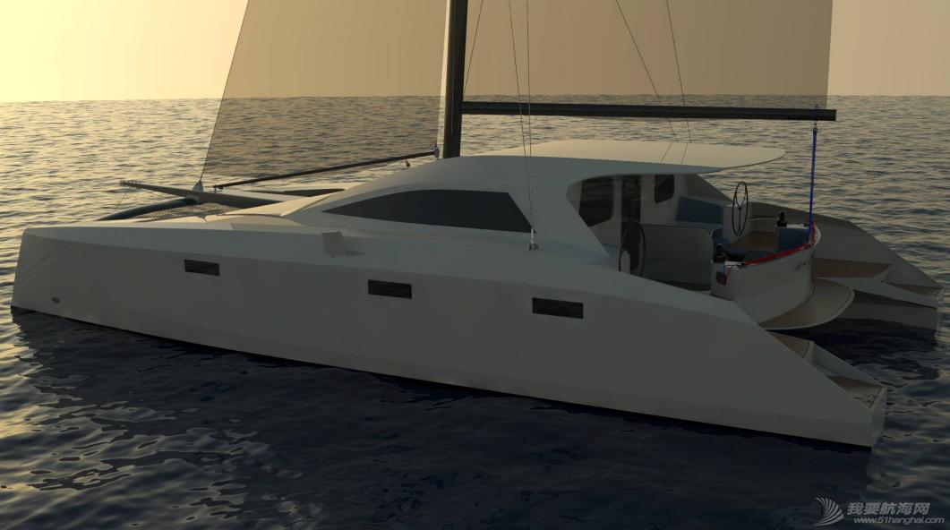 帆船 雙體帆船DIY方案-Arrow 1360