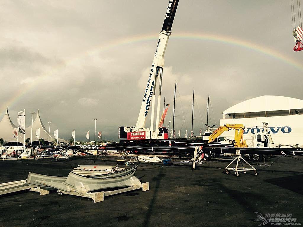 沃尔沃,工作人员,突如其来,重大事故,彩虹 你若安好,彩虹满天 | 跑赢了时间,战胜了困难,东风号顺利下水啦!
