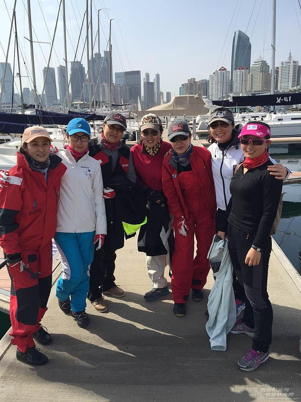 风景线,中国,青岛,帆船,照片 【20150417期:青帆协女子帆船队】