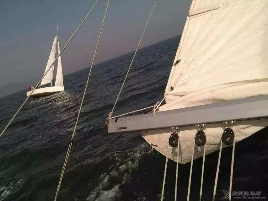 大连海事,大学,帆船 大连海事大学帆船队2015年第七次出海训练
