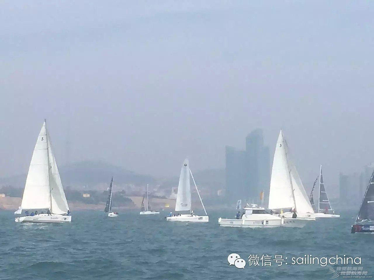 2015CCOR 城市俱乐部杯帆船赛昨日开赛,汉斯帆船H415今日参赛