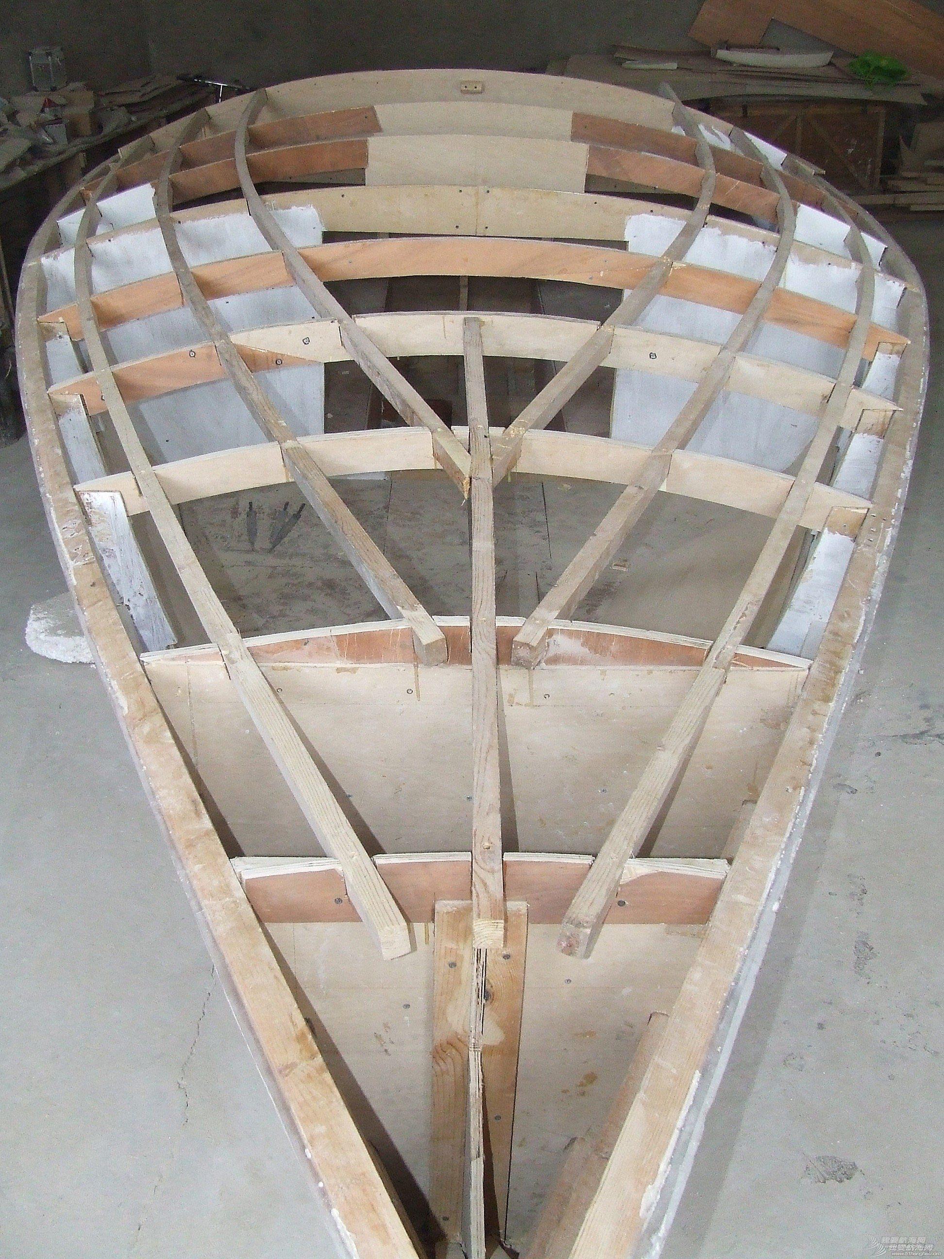 制作 GR-750开始进入甲板制作阶段