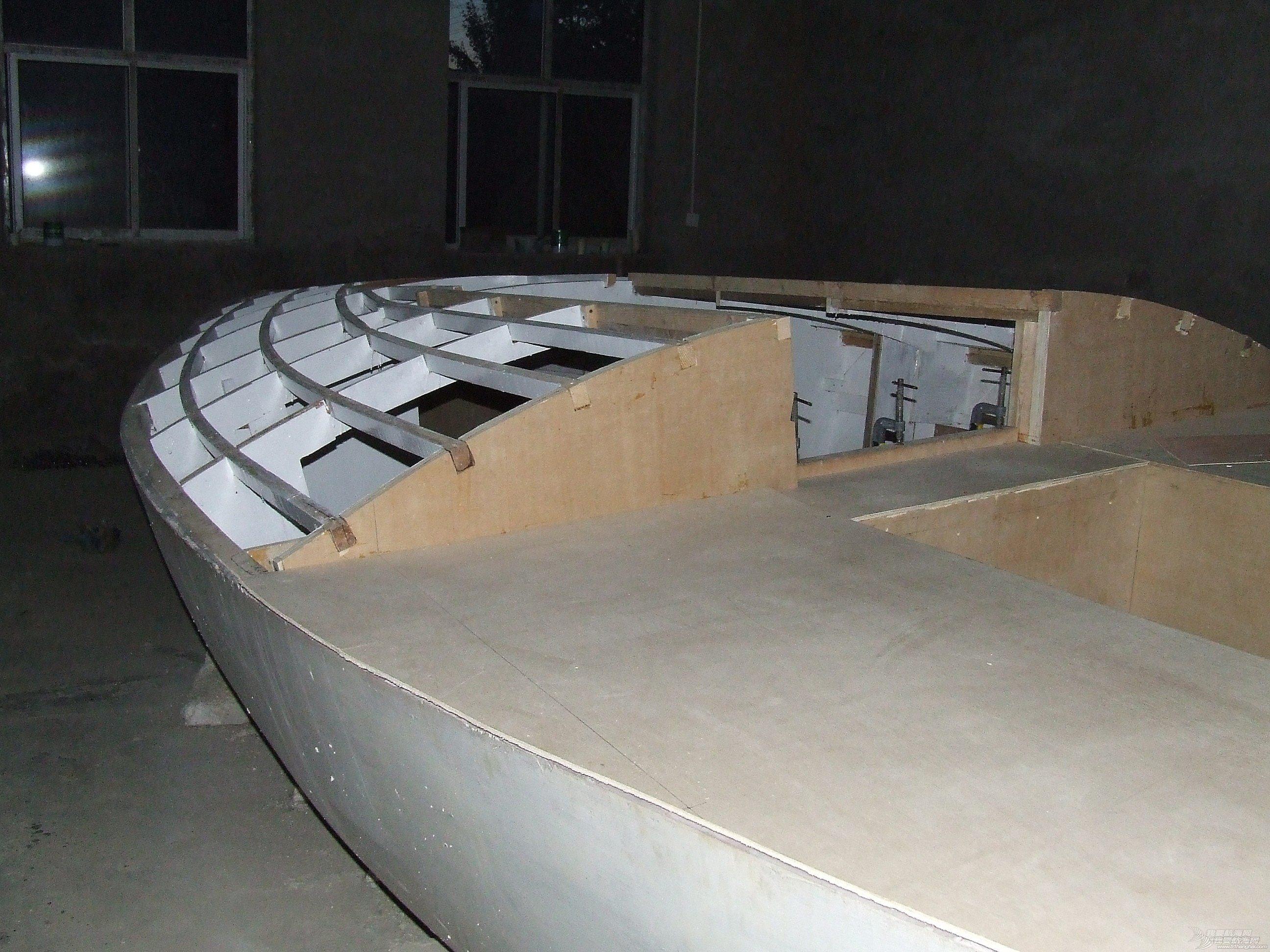 甲板受力区域的补强