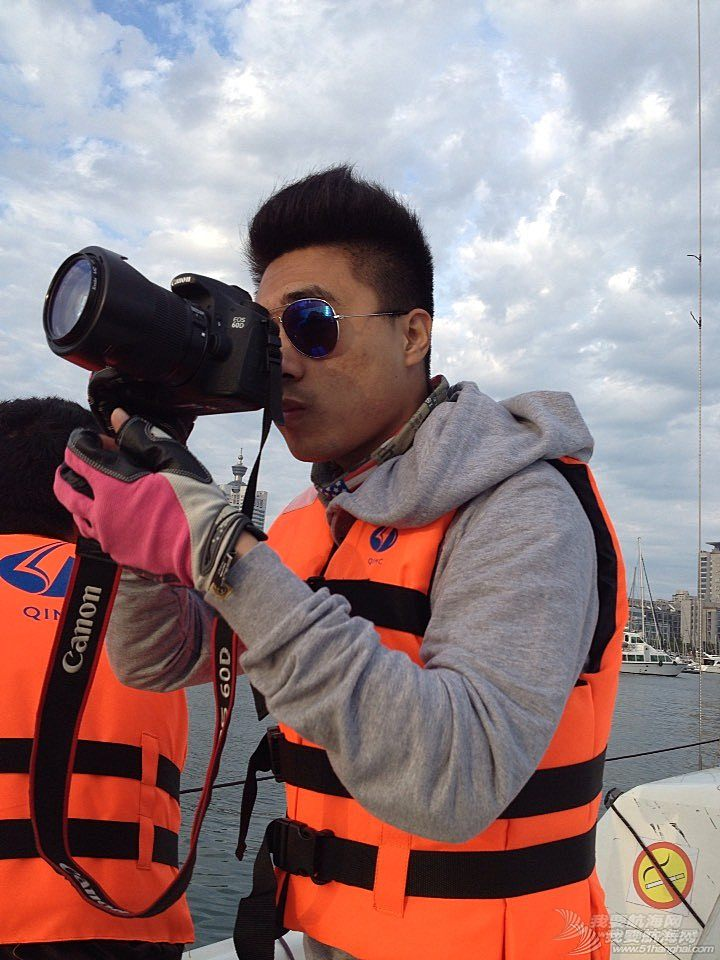 今天下午青岛的海上