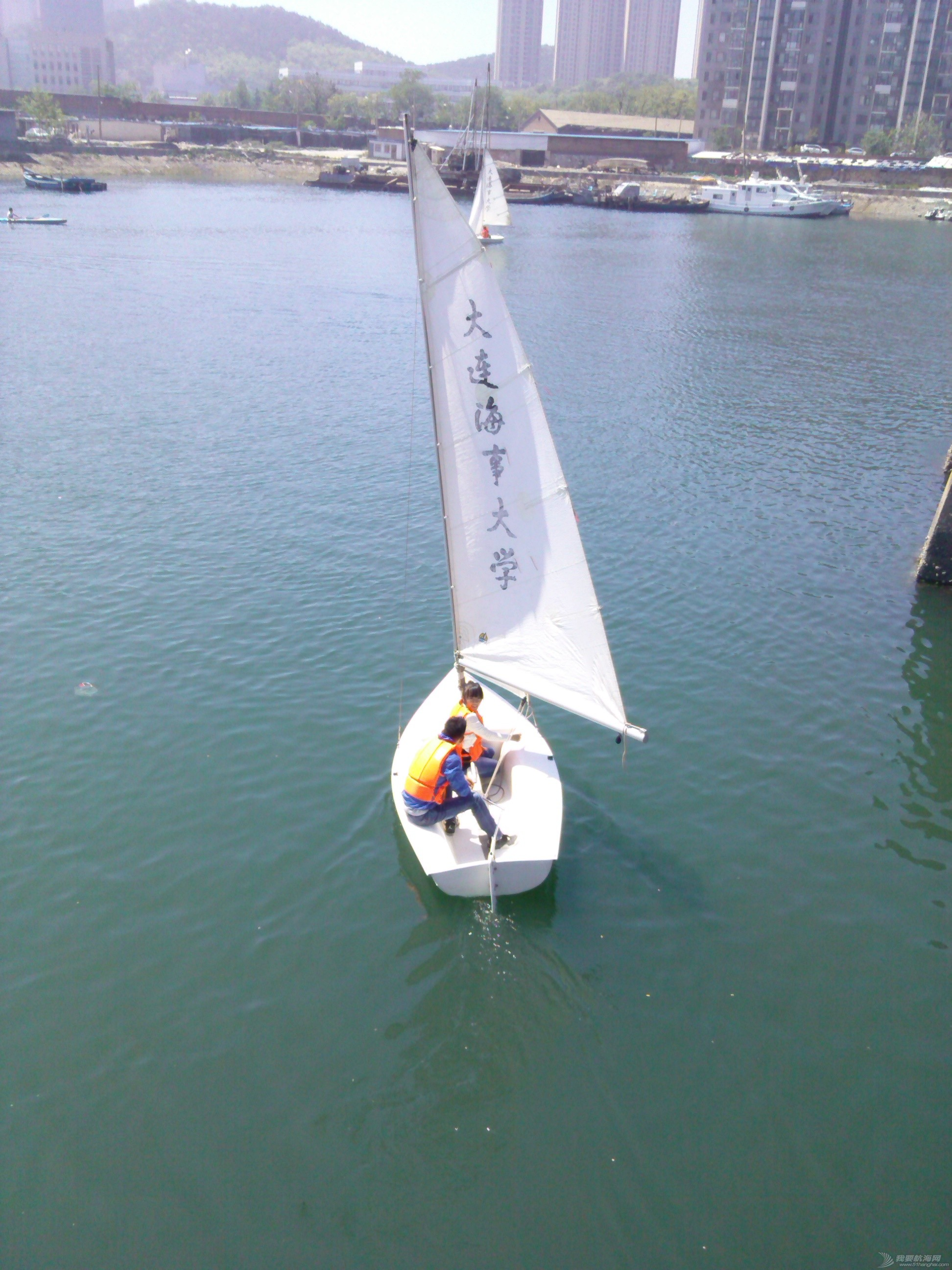 大连海事,大学,帆船 大连海事大学帆船队之第二次免费体验活动20150524