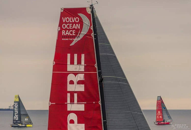 北京时间,阿布扎比,沃尔沃,哥德堡,中国 阿布扎比队问鼎2014-15沃尔沃环球帆船赛 中国东风队获得第三