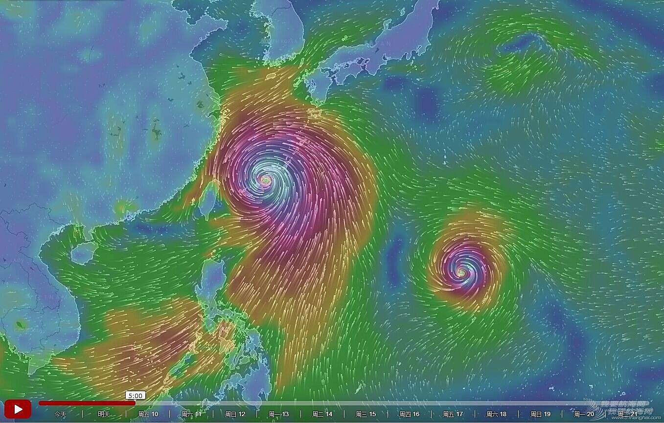 台风,浪卡,莲花,烂鸿,帆船气象 2015年7月8日 台风浪卡、莲花、烂鸿预警