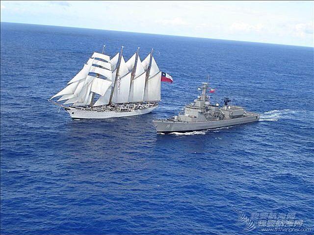 蓝色的风帆,黑色的舰
