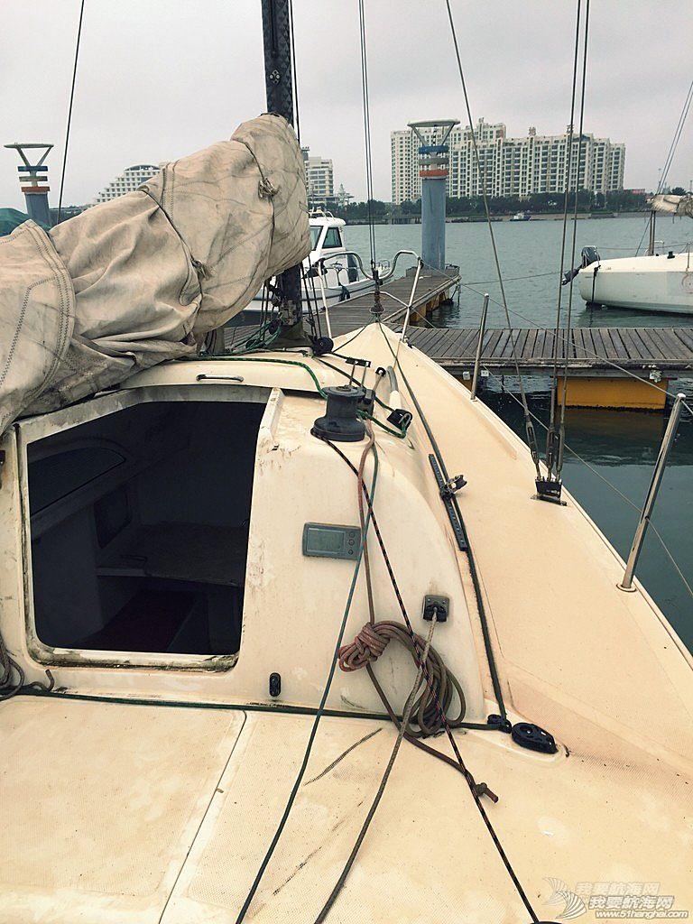 今天开始,志愿者,帆船,日记,日照 【公益航海志愿者日记@日照】Day2-今天清理第一艘帆船:飞虎,或者叫它灰虎