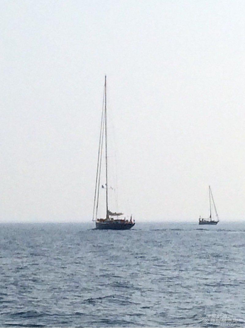 92尺帆船与40尺的对比