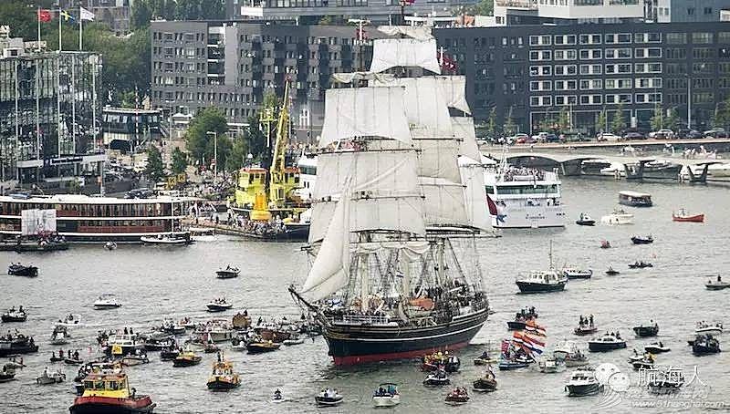 """阿姆斯特丹,荷兰人,主办方,最大的,北海 航海盛会:5年一次的""""阿姆斯特丹帆船节""""(图文视频)"""