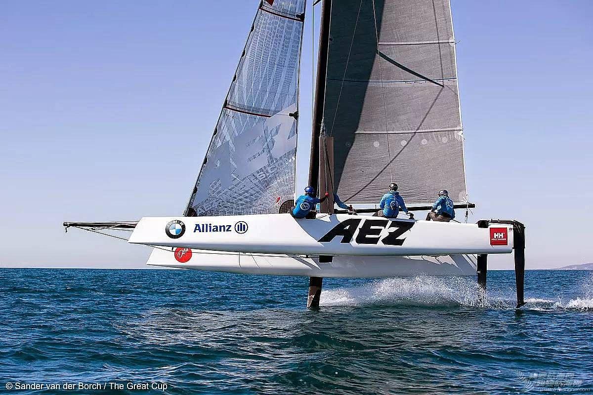Extreme,美洲杯,合作伙伴,系列赛,帆船 世界极限帆船系列赛官方宣布:2016赛季GC32取代Extreme 40