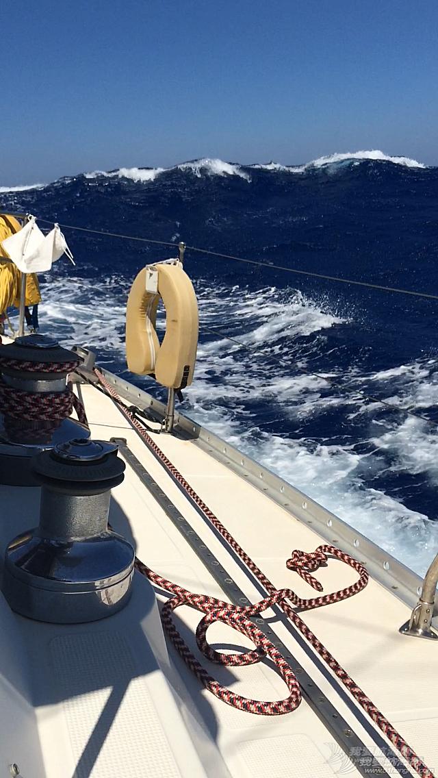 克里特岛,帆板高手,老公,托里,影响 30节北风5米海浪帆航至克里特岛
